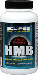 HMB 750 mg <p>From the Manufacturer's Label:</p><p>HMB or Beta-hydroxy beta methylbutyrate is a metabolite of the amino acid Leucine.</p><p>Manufactured by Eclipse Sport Supplements.</p> 120 Capsules 750 mg $34.99