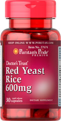 Red Yeast Rice 600 mg <p>Now you can sample Red Yeast Rice!</p> <p><span></span>  Has been a part of the traditional Chinese diet for centuries and is now becoming increasingly popular as a dietary supplement.</p> <p><span></span>  It is the by-product of the fermentation of cooked rice combined with Monascus purpureus yeast.</p> 30 Capsules 600 mg $1.99