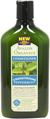 Avalon Peppermint Strengthening Conditioner <p><strong>From the Manufacturers Label:</strong></p><p>- No Parabens, Harsh Preservatives, Synthetic Colors or Fragrances, Phthalates, Sodium Lauryl or Laureth Sulfate.</p><p>- 100% Vegetarian Ingredients.</p><p>- No Animal Testing.</p> 11 oz Conditioner  $6.99