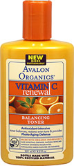 Avalon Vitamin C Balancing Facial Toner  8.5 fl oz Bottle  $8.99