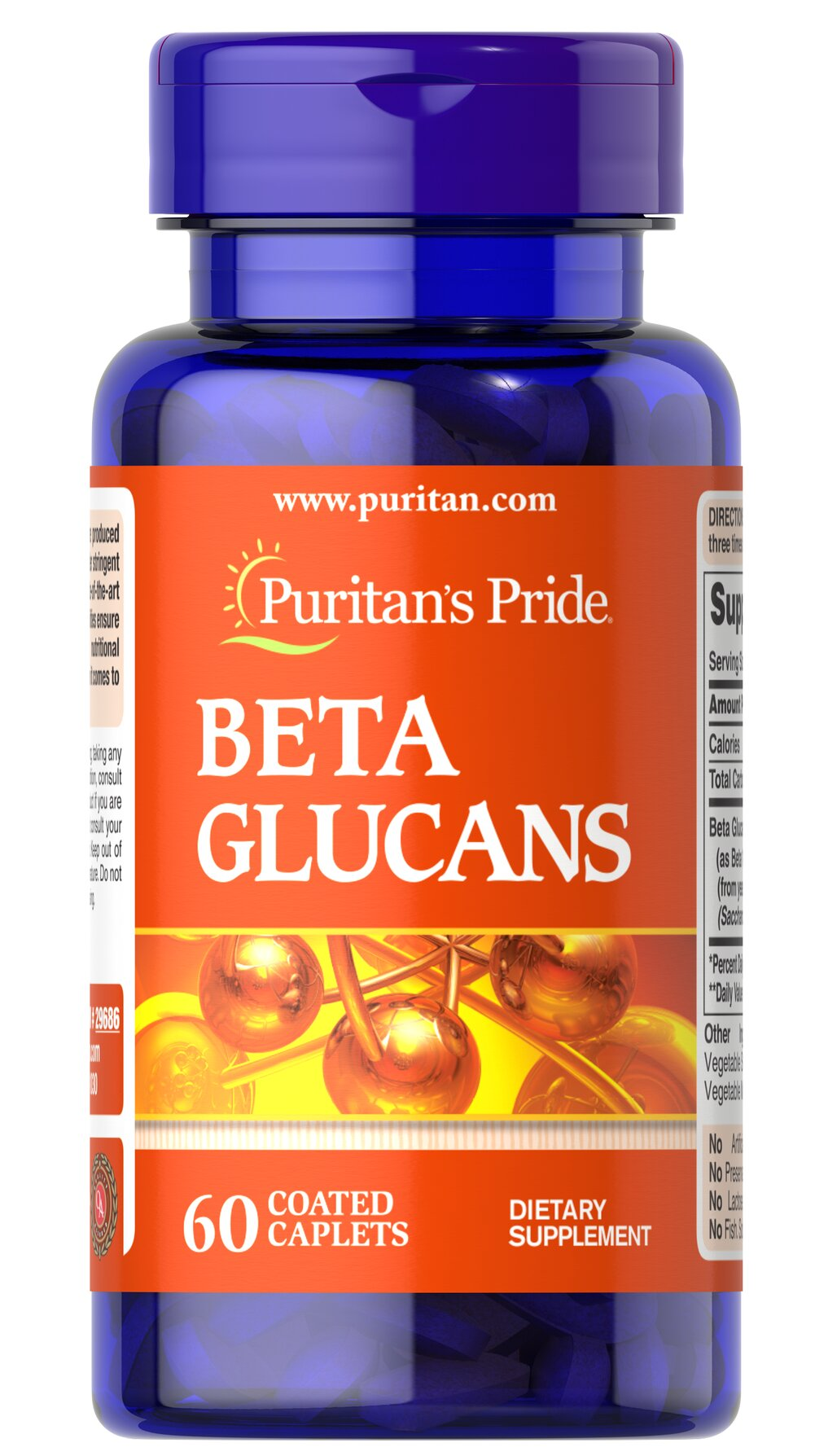 Beta Glucans 200 mg <p>Beta 1,3 Glucans are the major structural components of yeast</p><p>Our Beta 1,3 Glucans are derived from the cell walls of yeast</p><p>Contributes to healthy immune function**</p><p>Contains 200 mg of Beta 1,3 Glucans per tablet</p><p>These tablets are a great choice for vegetarians</p> 60 Tablets 200 mg $23.99