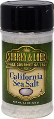 California Sea Salt <strong></strong><p><strong>From the Manufacturer:</strong></p><p>Sea salt is created from evaporated sea water, while traditional table salt is refined from mined rocks. California Sea Salt is an ideal all-around salt evaporated directly from the waters of the Pacific Ocean. The result is a nice white crystal with a low moisture content that works well in all recipes – it's also great for use in pasta water. Our all-natural Californi