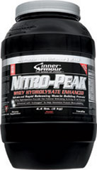 Nitro Peak Protein Vanilla <p><strong>From the Manufacturer's Label:</strong></p><p>Nitro Peak Protein is manufactured by Inner Armour®.</p><p>Available in Vanilla and  Chocolate flavors.</p> 4.4 lbs Powder  $35.99