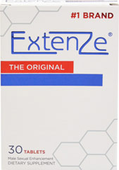 Extenze™  <p><b>From the Manufacturer's Label:</b></p> <p>Extenze is manufactured by Biotab Nutraceuticals.</p> 30 Tablets  $22.99