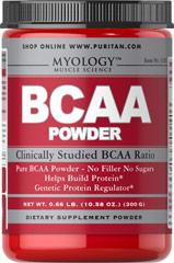 BCAA 5000 mg Powder <p><strong>From the Manufacturer's Label: </strong></p><p>BCAAs may be the most important aminos for athletes and bodybuilders as they are directly involved in protein synthesis at the genetic level.** BCAAs can also be broken down and used as an energy source to fuel exercise as needed.** BCAA Powder supplies a precise, clinically studied ratio of Leucine, Valine and Isoleucine (45/30/25).</p><p>BCAA Powder can be taken after tra