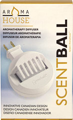 Aromatherapy Plug In Diffuser <p><b>From the Manufacturer's Label: </p></b>Aromatherapy is the use of essential oils to enhance the harmony and well-being of body, mind and spirit. The ScentBall is the ideal way to experience the benefits of essential oils in any room of your home. </p>  <p>Apply 5 to 10 drops of your favorite essential oil or blend on the reusable pad and insert into the diffuser. Plug in the diffuser and within minutes you will begin to