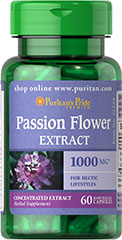 Passion Flower 1000 mg <p></p><ul><li>For Hectic Lifestyles**</li><li>Traditionally used for its soothing properties**</li><li>Rapid release capsules disperse quickly into your system</li></ul> 60 Capsules 1000 mg $13.39