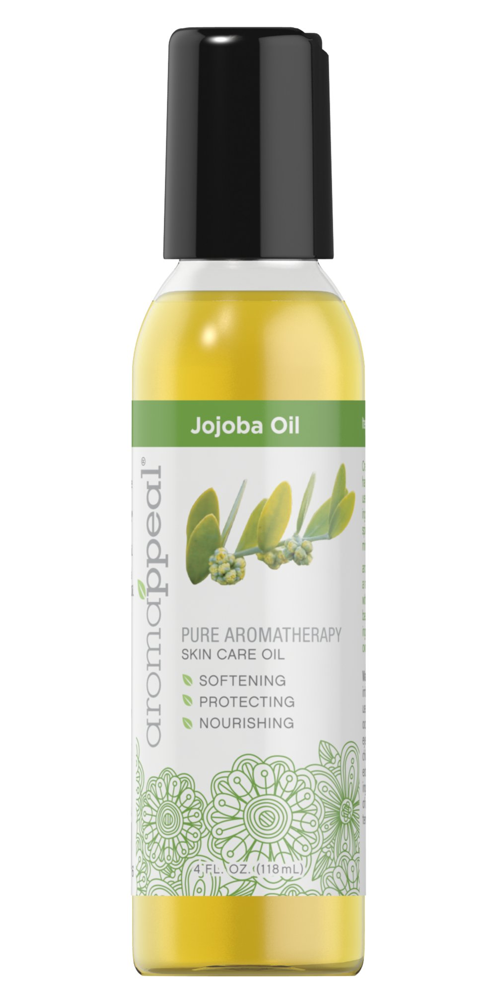 Jojoba Oil <p>Created to bring you harmony, Aromappeal™ uses the most balanced ingredients to lift your spirits and soothe your mind.</p><p>Aromappeal™ Jojoba Oil is a natural vegetable oil with a neutral aroma. This base makes an ideal ingredient to create your own aroma recipe.</p> 4 oz Oil  $17.99