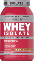 Whey Protein Isolate Chocolate  2 lbs Powder  $43.19