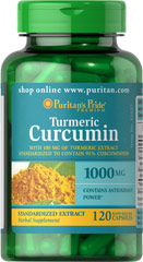Turmeric Curcumin 1000 mg <p><strong>A Time-Tested Antioxidant</strong></p>The Curcumin in Turmeric is what gives it its antioxidant power, and when taken as a capsule, you can avoid the spicy taste.<p></p><p>Helps fight cell-damaging free radicals**</p><p>Supports stimulation of the body's natural defenses**</p><p>The high intake of turmeric in India is believed to contribute to brain health**</p><p>Bioperine® is