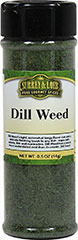 Dill Weed  0.5 oz Bottle  $5.99