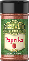 Paprika <p><strong>From the Manufacturer:</strong></p><p>Distinguished by its magnificent deep red color, the sharp, hot flavor of Paprika adds a perfect peppery accent to your recipes. Paprika is an established seasoning in many cuisines.</p> 1.5 oz Powder  $1.00