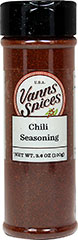 Chili Seasoning <strong></strong><p><strong>From the Manufacturer:</strong></p><p>Use wherever chili flavoring is appropriate. It is based on our dark chili powder blend, which has the flavor of fruity chilies and a pleasant late appearing heat. Use as a dry rub for fish, chicken, steak, lamb and pork.<br /></p> 3.6 oz Seasoning  $7.99