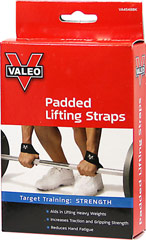 Padded Lifting Straps <p><b>From the Manufacturer's Label: </p></b><p>We are proud to bring you Padded Lifting Straps from Valeo.  Look to Puritan's Pride for high-quality national brands and great nutrition at the best possible prices.</p> 1 pair Each  $8.99
