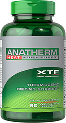 Anatherm Heat XTF <p>Anatherm Heat provides thermogenic dieting support **</p><p>Metabolic stimulator**</p><p>Provides B Vitamins to promote energy metabolism, plus Chromium and Green Tea**</p><p>Rapid release capsules disperse quickly into your system </p> 90 Capsules  $10.99