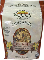 Organic Gluten Free Fruity Granola <p><b>From the Manufacturer: </p></b><p><b>Organic Gluten Free Crispy Fruity Organic Cereal</b></p><p>Whole grain, healthy, great tasting granola full of color, crunch and taste. </p><p>Perfect as a snack or cereal. Each bag is tested and confirmed to be gluten free.</p><p>Sold in a convenient resealable granola pouch.</p><p>Made with organic raisins, organic corn flakes,