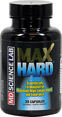 Max Hard™ <p><strong>From the Manufacturer's Label: </strong></p><p>MaxHard™ is Distributed by: M.D. Science Lab, L.L.C.</p> 30 Capsules  $24.99