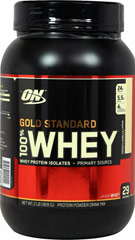 Gold Standard Whey Vanilla <p><strong>From the Manufacturer's Label: </strong></p><p>Gold Standard Whey Vanilla is manufactured by Optimum Nutrition.<br /></p> 2 lbs Powder  $32.99