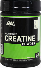 Micronized Creatine Powder <p><strong>From the Manufacturer's Label: </strong></p><p>Micronized Creatine Powder is made with Creapure, a creatine monohydrate known for its exceptional purity. It's also micronized to make the particles smaller so our powder mixes easier and stays suspended in liquid longer than non-micronized creatine supplements.<br /></p> 2.64 lb Powder 5000 mg $39.99