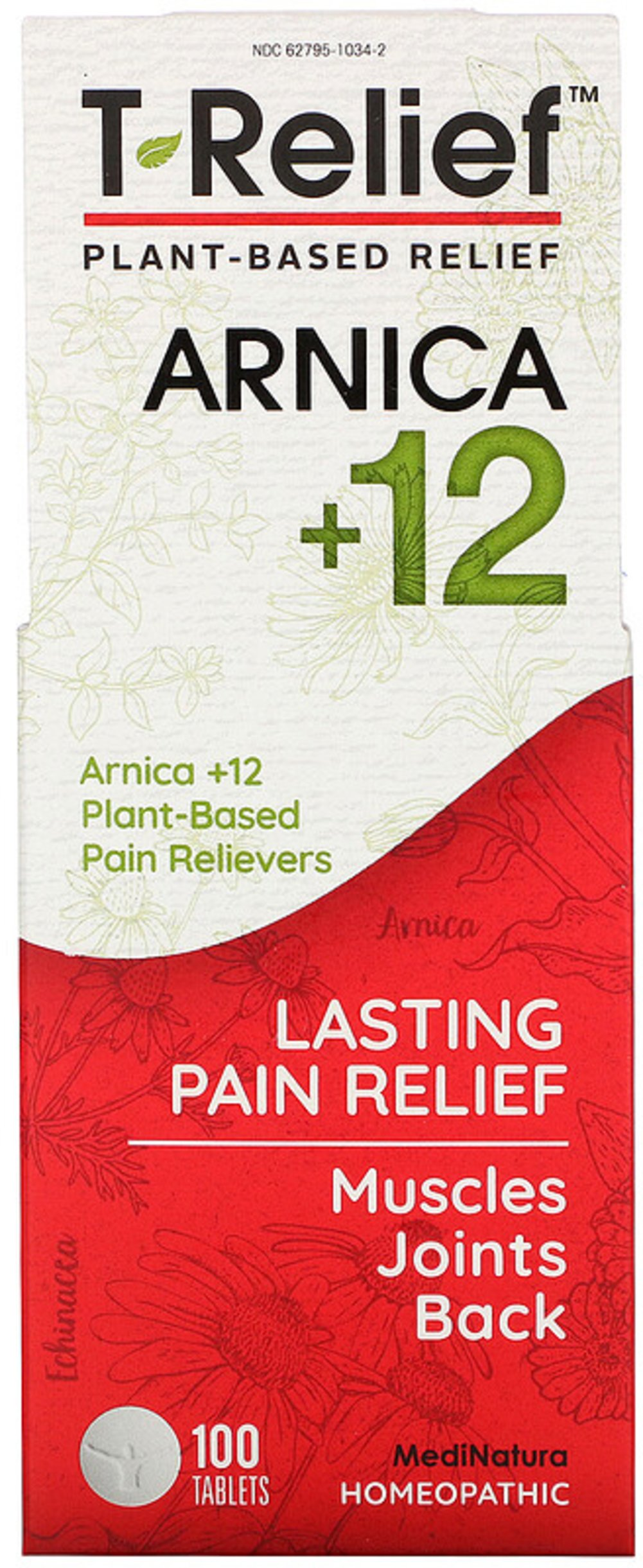 T- Relief <p><strong>From the Manufacturer's label</strong></p><p></p><p><strong>T-Relief™ </strong></p><p>Homeopathic Medicine</p><p>Pain Relief</p><p>For the temporary relief of pain due to: Muscular Pain, Joint Pain, Sport Injuries, Bruising</p><p>T- Relief™ has been relieving pain for over 70 years, and is sold in more than 60 countries worldwide. For topical use, T- Relief™  is also ava