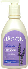 Jason® Lavender Pure Natural Body Wash <p><strong>From the Manufacturer:</strong></p><p><strong>Soothes</strong> with Natural Lavender & Marigold Extracts</p><p><strong>Nourishes</strong> with Vitamin E and Pro-Vitamin B5</p><p>No Parabens, Sodium Lauryl/Laureth Sulfates or Phthalates</p><p>This gentle wash cleanses with natural botanical surfactants and safely nourishes with Vitamin E and Pro-