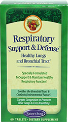 Respiratory Support & Defense™  60 Tablets  $11.49