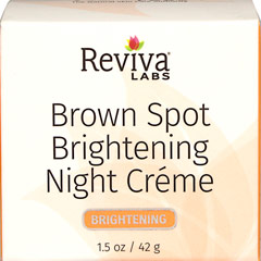 Reviva® Labs Brown Spot Skin Lightening Night Cream  1.5 oz Cream  $8.99