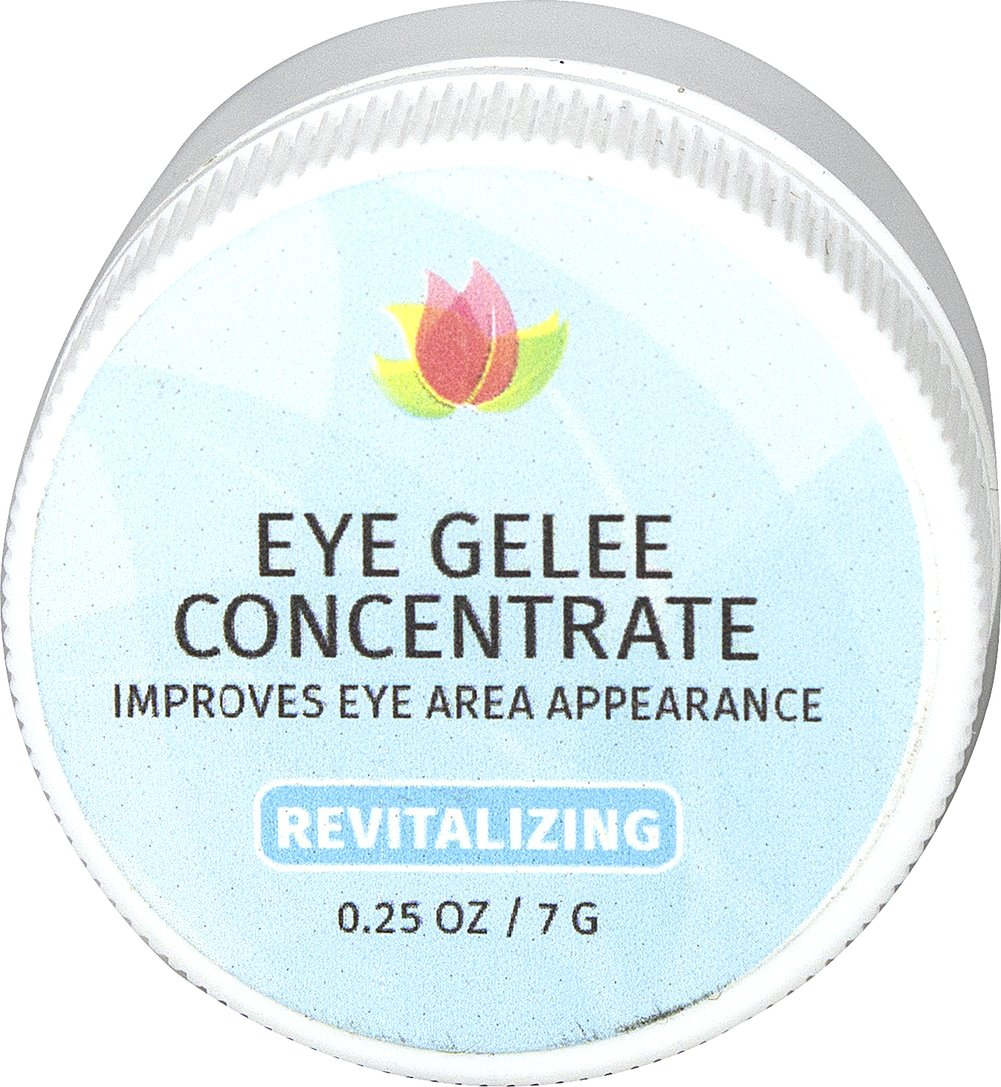 Reviva® Labs Eye Gelee Concentrate <p><strong>From the Manufacturer's Label: </strong></p><p>With all the latest wonder-works for under-eye care: collagen, specific herbal extracts, elastin and mucopolysaccharides. Fragile eye area tissues need this special formula that lubricates as well as tones, softens and protects. Smooth on gently (do not rub) under eyes to fight bags and wrinkles and at outer corners to fight crows feet. May also be used on eyelids.&