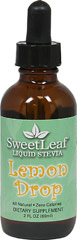 Stevia Liquid Extract Lemon Drop <p><strong>From the Manufacturer's Label:</strong></p><p>Stevia Liquid Lemon Drop is manufactured by Sweet Leaf.</p> 2 fl oz Liquid  $10.99