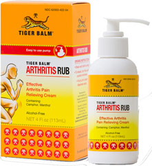 Tiger Balm® Arthritis Rub  4 oz Lotion  $10.49