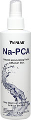 NA-PCA <p><strong>From the Manufacturer's Label: </strong></p><p>Twin Lab Na-PCA is a Ph-balanced, concentrated solution of the sodium salt of pyrrolidone carboxylic acid, the natural moisturizing factor found in human skin. Na-PCA is a synthesized from glutamic acid, a nonessential amino acid.</p><p>Non-Oily. Hypo-Allergenic, Non-Comedogenic & Paraban Free</p><p>Manufactured by  Twinlab.</p> 8 fl oz Spray  $6.49