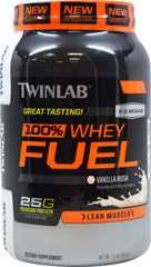 100% Whey Protein Fuel Vanilla Rush  2 lb Powder  $22.99