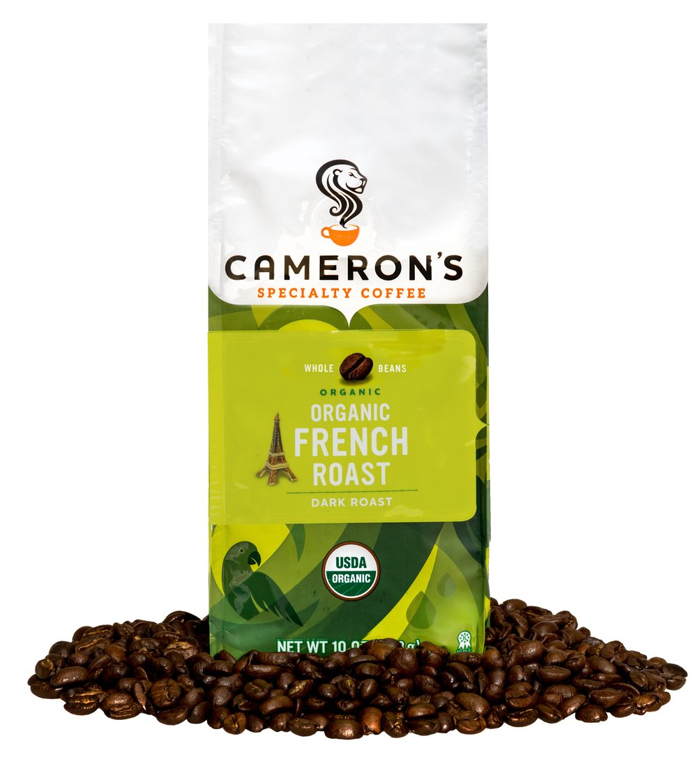 Organic French Roast Whole Bean Coffee  10 oz Bag  $15.99