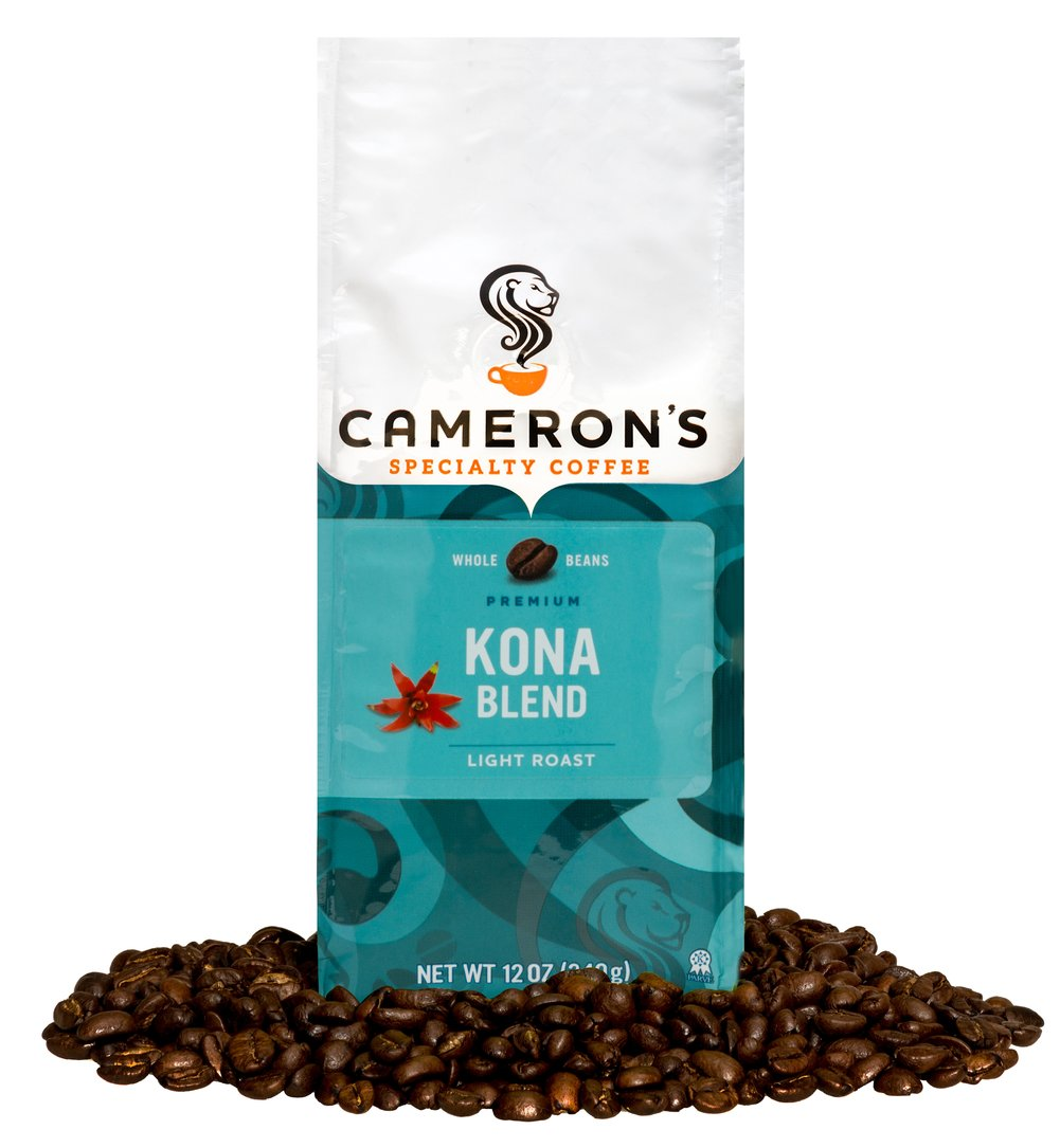 Kona Blend Whole Bean Coffee  12 oz Bag  $15.99