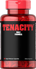 Tenacity™ <p>Finish what you start with Tenacity™</p> <p>Features L-Arginine, an amino acid that can serve as an energy precursor and support the effects of exercise**</p> <p>Arginine helps maintain coronary blood flow and vascular health, and is involved in immune function**</p> <p>Also contains Yohimbe, which helps to stimulate metabolism, and in turn supports energy levels**</p> <p>Rapid release capsules disperse quickly into you