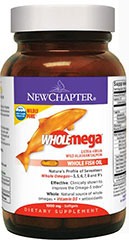 Wholemega® Whole Fish Oil 1000 mg  60 Softgels 1000 mg $17.49
