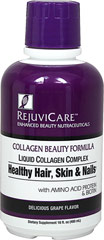 Collagen Beauty Formula Liquid <p>Liquid Collagen Complex for Healthy Hair, Skin & Nails Rejuvenate Your Youth**</p><p>Supplies Collagen & Elastin for Healthy Hair, Skin and Nails**</p><p>Supports Skin Repair and Hydration**</p><p>Provides Essential Antioxidants**</p><p>Delicious Grape Flavor</p> 16 oz Liquid 2000 mg $8.79