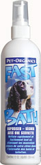 Fast Bath for Dogs <p><strong>From the Manufacturer's Label: </strong></p><p>Fast Bath for dogs is great anytime and anyplace. Fast Bath allows your dog to have a waterless bath in just minutes. Quick, easy and eliminates odors leaving a light fresh fragrance. Contains no harsh chemicals.</p><ul><li>Made in the USA</li></ul> 12 oz Shampoo  $16.99