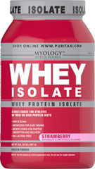 Whey Protein Isolate Strawberry  2 lbs Powder  $33.59
