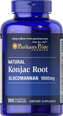Glucomannan 500 mg Konjac Root <p>Glucomannan is specifically designed to be used with your reduced calorie diet and daily exercise plan and is a popular addition to all types of nutritional programs.</p><p>Glucomannan helps maintain cholesterol levels already within a normal range.**</p><p><br /></p><p></p> 180 Capsules 500 mg $23.69