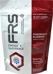 FRS Chews Pomegranate Blueberry <p><strong>From the Manufacturer's Label:</strong></p><p>FRS Chews  are manufactured by FRS.</p><p>Available in Pomegranante Blueberrry & Pineapple Mango flavors.</p> 30 Chewables  $24.99