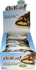 Oh Yeah Caramel Crunch 45 gram Bar <p><strong>From the Manufacturer's Label:</strong></p><p>Oh Yeah Bars are manufactured by ISS Research.  Available in Chocolate Carmel and Carmel Crunch flavors.</p> 12 Bars  $15.49