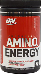 Essential Amino Energy™ Fruit Fusion <p>We are proud to bring you Amin. O. Energy Fruit Fusion from Optimum Nutrition.  Look to Puritan's Pride for high quality national brands and great nutrition at the best possible prices.</p> 30 Powder  $19.99