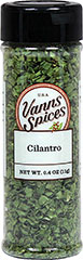 Cilantro <strong></strong><p><strong>From the Manufacturer:</strong></p><p>Cilantro, the green leaves of the coriander plant, has a unique citrus flavor that compliments both Western and Eastern cuisines.</p> 0.4 oz Bottle  $6.99