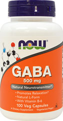 GABA 100% Pure Powder <p>We are proud to bring you Gaba Pure from Now Foods.  Look to Puritan's Pride for high quality national  brands and great nutrition at the best possible prices.</p> 6 oz Powder  $9.99