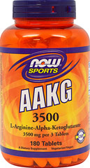 AAKG 3500  180 Tablets  $36.99