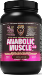 Anabolic Muscle Chocolate Shake <p><strong>From the Manufacturer's Label: </strong></p><p>We are proud to bring you Anabolic Muscle Chocolate Shake from Healthy N Fit.  Look to Puritan's Pride for high quality natiional brands and great nuitrition at the best possible prices.</p> 3.5 lbs Powder  $26.99