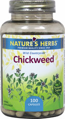 Chickweed 385 mg <p>We are proud to bring you Chickweed  from Nature's Herbs.  Look to Puritan's Pride for high quality national brands and great nutrition at the best possible prices.</p> 100 Capsules 385 mg $8.99