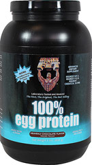 100% Egg Protein Heavenly Chocolate <p><b>From the Manufacturer's Label: </p></b><p>The only 100% Egg Protein with 100% Egg White Protein and 100% Egg White Peptides and Amino Acids.</p> <p>Fact- Net protein utilization (N.P.U.) is also a proven scientific method which determines what percentage of the protein we ingest can actually be used for growth. Healthy 'N Fit(R) 100% Egg Protein has a higher N.P.U. than any other protein available anywher