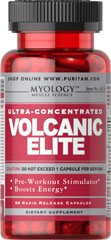 Ultra-Concentrated Volcanic Elite <p>Volcanic Elite is specially formulated in one capsule to give you the energy boost you need during the day or while training in the gym.**</p> 90 Capsules  $11.69